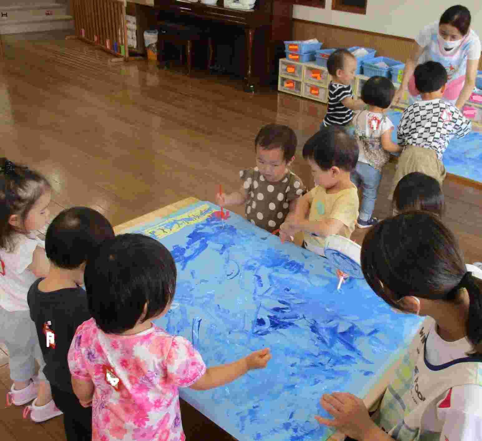 ひまわり組水族館(1歳児)