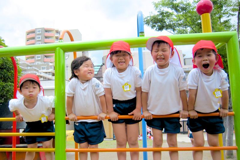 愛児園の子どもたち