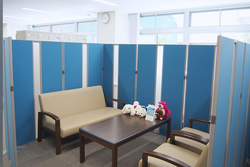 おだわら障がい者総合相談支援センター「クローバー」室内写真