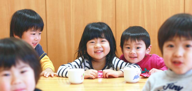 子どもたちの笑顔